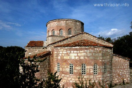 Church of St. Sophia at ancient Bizye